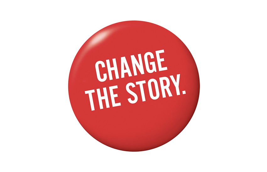 AIDS Story button
