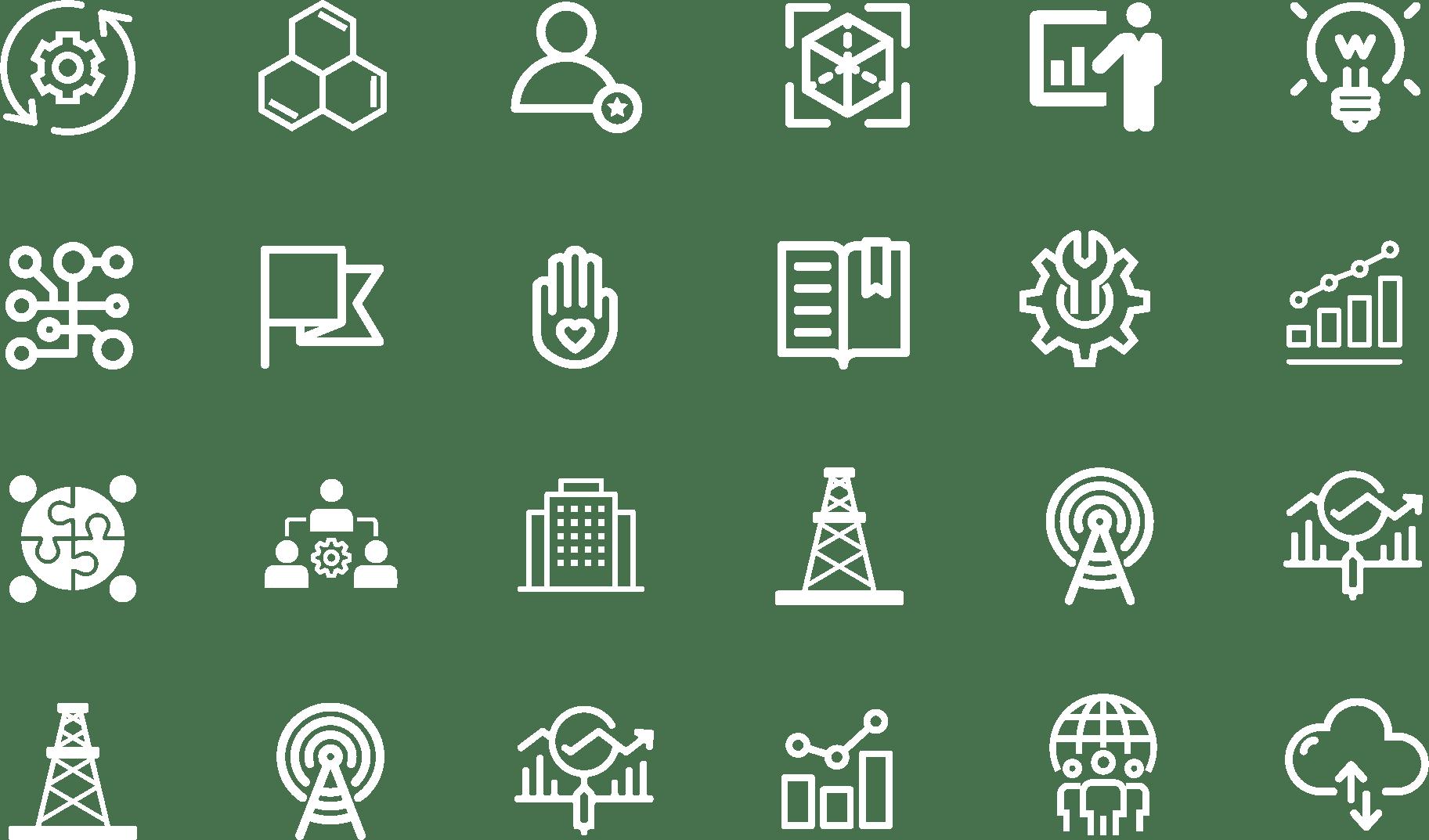 Americas' SAP Users' Group icons