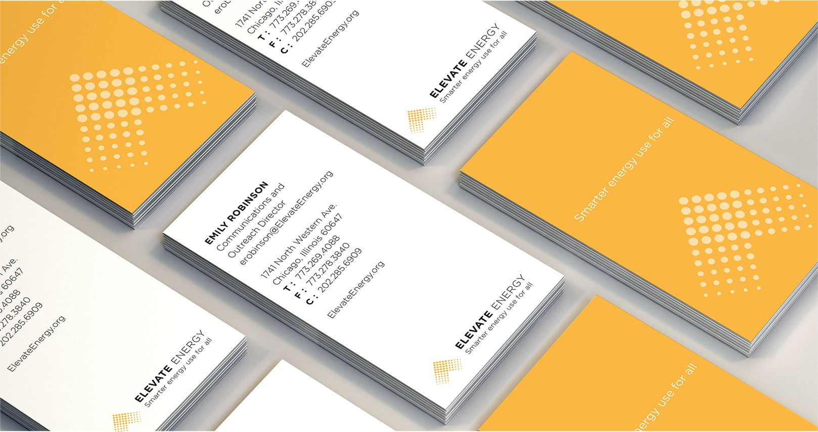Elevate Energy business cards